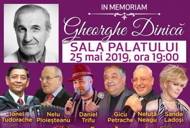 Bilete Concert In Memoriam Gheorghe Dinica Sala Palatului